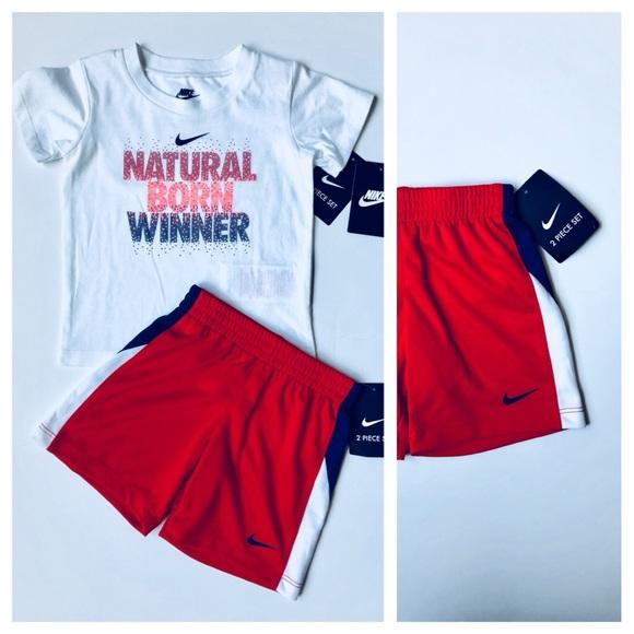 eea0b84d0 Nike Matching Sets | Nwt Boys 2 Piece Set Teeshortssize 24m | Poshmark